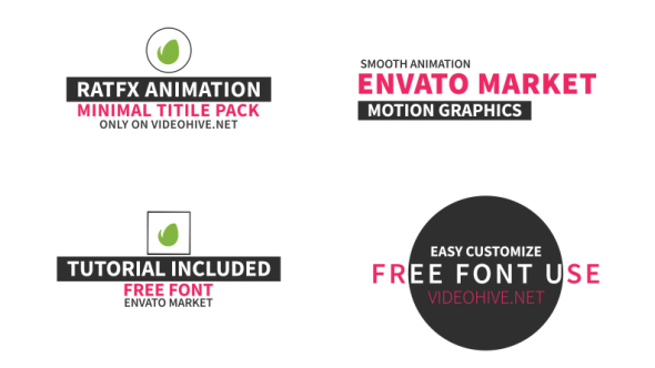 VIDEOHIVE 40 TITLE PACK FREE DOWNLOAD - Free After Effects