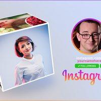 Videohive Instagram Promo Cube Gallery 19494184