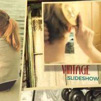 Vintage Slideshow – After Effects