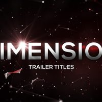 Dimension Trailer Titles – Free VIP Template