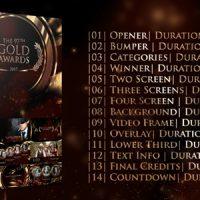 VIDEOHIVE GOLD AWARDS FREE DOWNLOAD