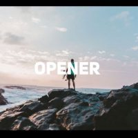 Clean Rhythmic Opener After Effects Motion Array
