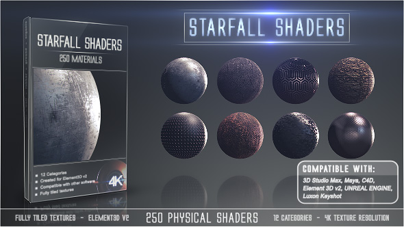 VIDEOHIVE STARFALL SHADERS FREE DOWNLOAD - Free After