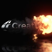 VIDEOHIVE FIRE REVEAL LOGO