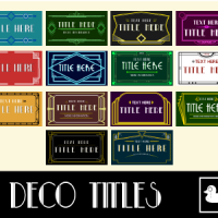 VIDEOHIVE 20 ART DECO TITLES FREE DOWNLOAD