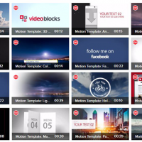 Videoblocks Apple Motion Template Crazy Bundle