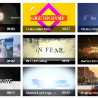 Videoblocks Intro After Effects Template Crazy Bundle