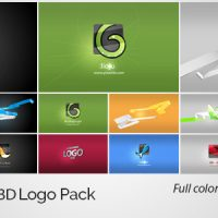 VIDEOHIVE 3D LINES 3D LOGO PACK – FREE DOWNLOAD