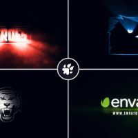 VIDEOHIVE CINEMATIC LIGHT RAYS LOGO