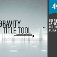 Gravity Title Tool – Free After Effects Template