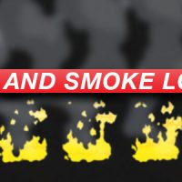 VIDEOHIVE ANIME ACTION ESSENTIALS – FIRE AND SMOKE LOOPS – MOTION GRAPHICS
