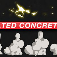 VIDEOHIVE ANIMATED CONCRETE HITS – ANIME ACTION ESSENTIALS – MOTION GRAPHICS