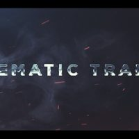 Cinematic Trailer Titles – Free After Effects Template