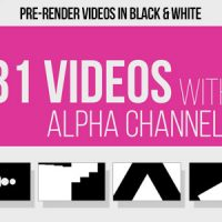 VIDEOHIVE 31 TRANSITIONS ALPHA MATTES – MOTION GRAPHIC