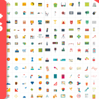 VIDEOHIVE 2300 ANIMATED ICONS PACK FREE DOWNLOAD