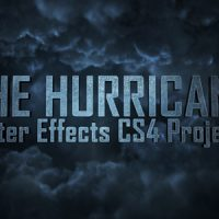 THE HURRICANE TITLES – AFTER EFFECTS PROJECT (VIDEOHIVE)