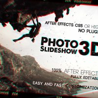 Photo Slideshow 3D Free After Effects Templates