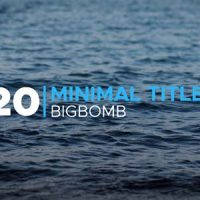 Minimal Titles – Free After Effects Template