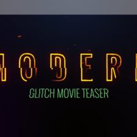 Modern Glitch Movie Teaser – Free VIP After Effects Template