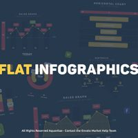 VIDEOHIVE FLAT DESIGN INFOGRAPHICS FREE TEMPLATE