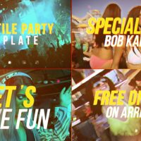 VIDEOHIVE VERSATILE PARTY FREE AFTER EFFECTS