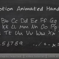 VIDEOHIVE STOPMOTION HANDWRITING