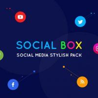 VIDEOHIVE SOCIALBOX – SOCIAL MEDIA INTRO AND OUTRO FOR SOCIAL MEDIA LINKS PROMOTION