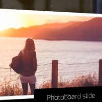 Photo board Slideshow After Effects