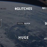 VIDEOHIVE GLITCH TEXT FREE AFTER EFFECTS TEMPLATE