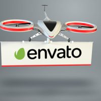 Drone Logo – Free After Effects Template