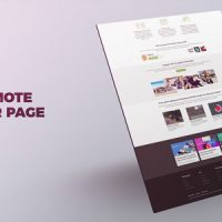 Website Promo – Free VIP Template