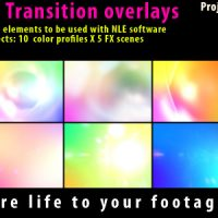 VIDEOHIVE FLASH LIGHT TRANSITION OVERLAY LENSE PACK – MOTION GRAPHICS
