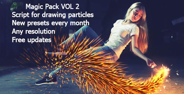 VIDEOHIVE PARTICULAR PRESETS - MAGIC PACK II ADD-ON - Free