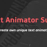 Text Animator Suite | After Effects Script Free Download