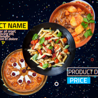4K Restaurant Product Promo Free After Effects