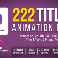 VIDEOHIVE TITLES ANIMATION FREE DOWNLOAD