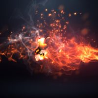Fire Logo Intro – Free After Effects Template