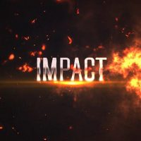 Impact Titles: Fire 4K Free After Effects Templates