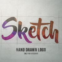 Sketch Logo – Free After Effects Template