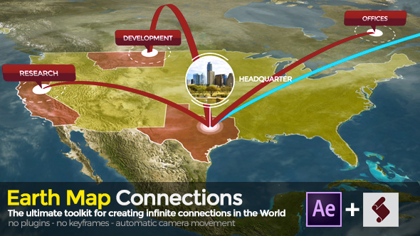 Earth map connections free after effects free after effects earth map connections free after effects gumiabroncs Image collections