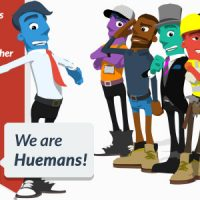 We are Huemans Free VIP Template
