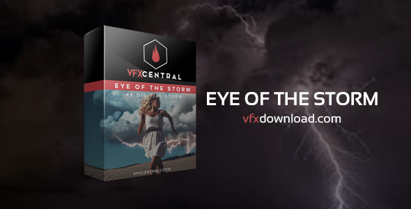 VfxCentral - Eye Of The Storm 4k Digital Storm Effects - Free Motion