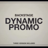 VIDEOHIVE BACKSTAGE – AFTER EFFECTS TEMPLATE