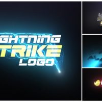 VIDEOHIVE LIGHTNING STRIKE LOGO FREE AFTER EFFECTS TEMPLATE