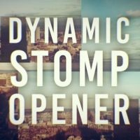 Dynamic Stomp Opener – Free After Effects Template
