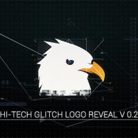 VIDEOHIVE HI-TECH GLITCH LOGO REVEAL
