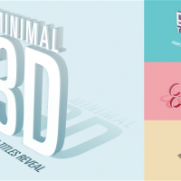 VIDEOHIVE MINIMAL 3D – LOGO & TITLES REVEAL