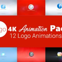 VIDEOHIVE LOGO 4K ANIMATION PACK FREE DOWNLOAD