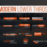 Lower Thirds – Free After Effects Template