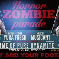 VIDEOHIVE HORROR ZOMBIE PARADE FREE DOWNLOAD
